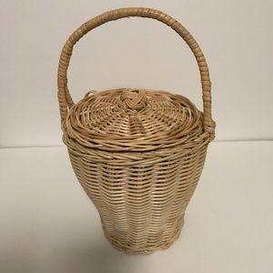 Handbags - Rare gem - Jane Birkin style basket bag.